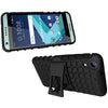 HTC Desire 555 / 550 TPU Slim Rugged Hybrid Stand Case by Modes