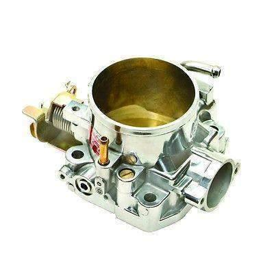 Integra 68mm Type-R Throttle Body Power High Flow for Honda B16 B16A Civic Integra B17 B18C5 (Polished) by Pro Products 69606