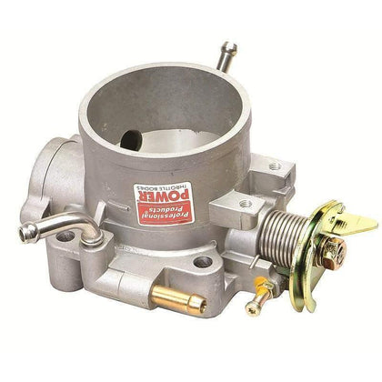 Integra 68mm Type-R Throttle Body Power High Flow for Honda B16 B16A Civic Integra B17 B18C5 (Satin Natural Silver) by Pro Products 69607