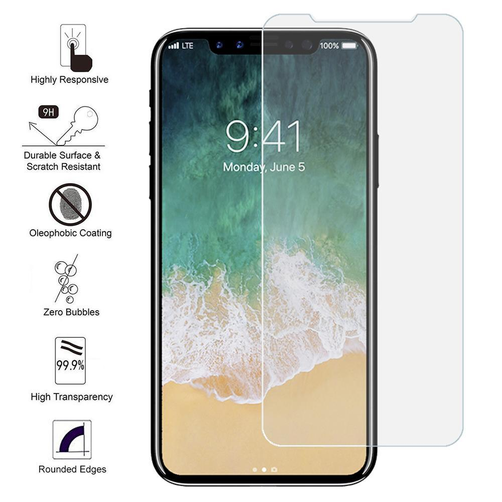 iPhone X Tempered Glass Screen Protector by Modes
