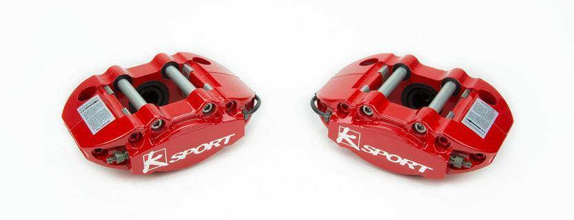 2002-2007 WRX ProComp 6 Piston Rear Big Brake System by Ksport - mobileiGo.com