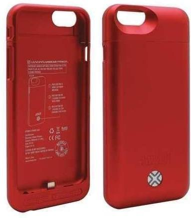 LENMAR iPhone 6/6s Power Case Battery Case (Red) BC6R