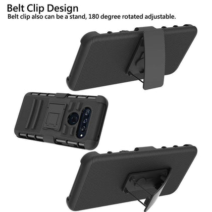 LG V40 ThinQ Armor Belt Clip Holster Case by Modes