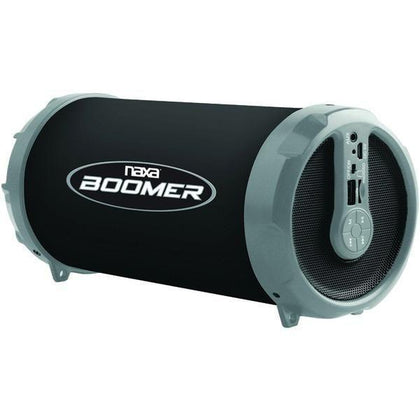 NAXA NAS-3071 GRAY BOOMER Portable Bluetooth Speaker (Gray)