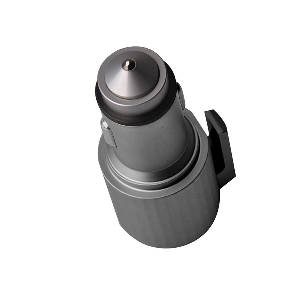 Quick Car Charger, 4.8a Dual USB Fast Car Charger With Life Guard Charge Technology In Gray