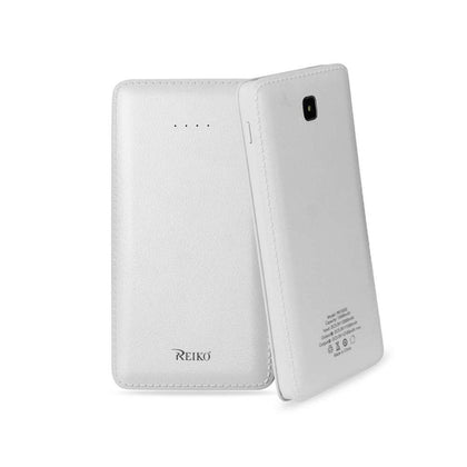 Reiko 15000mAh Universal Power Bank (White)