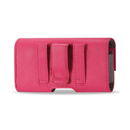 Horizontal Pouch iPhone 5 Plus Hot Pink