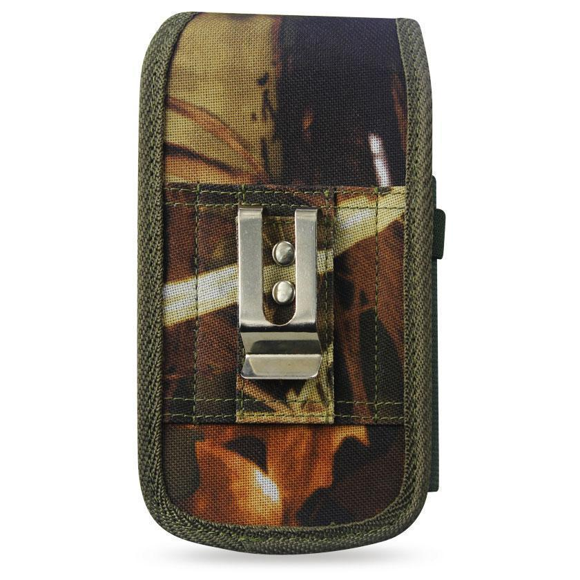 Vertical Rugged Pouch Samsung Note 2- N7100 Plus-am32 withBuckle Clip Inner Size: 6.34x3.57x0.77inch