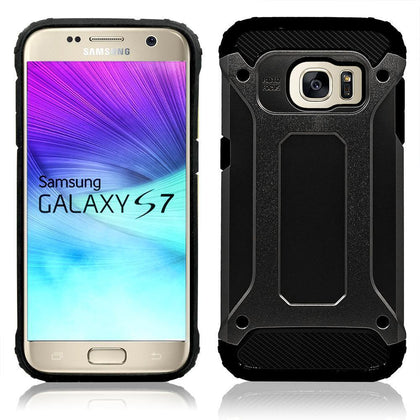 Samsung Galaxy S7 Edge Armor Hybrid Dual Layer Shockproof Touch Case by Modes