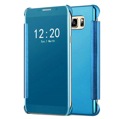 Samsung Galaxy S7 Edge Mirror View Clear Slim Flip Case by Modes