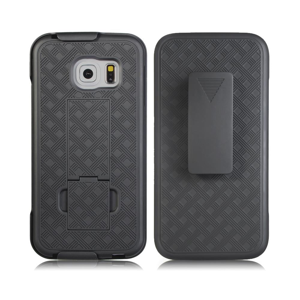 Samsung Galaxy S7 Slim Hard Shell Holster Case with Kickstand by Modes