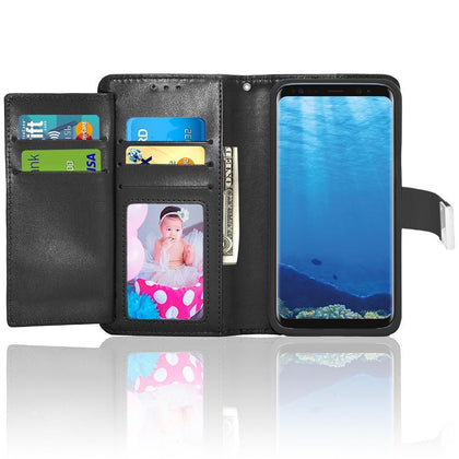 Samsung Galaxy S8 / G950 Double Flap Folio Leather Wallet Pouch Case by Modes