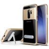 Samsung Galaxy S9 Plus Slim Hybrid Transparent Bumper Shockproof Case with Kickstand by Modes