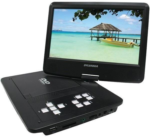 SYLVANIA SDVD1030 10inch Swivel-Screen Portable DVD Player