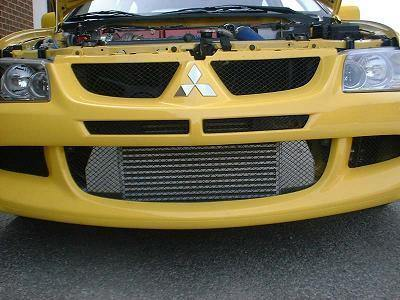 Ultimate Racing FMIC Core and Hard Pipe Kit Complete | 2003-2007 Mitsubishi Lancer Evolution (200191) - mobileiGo.com