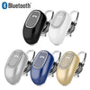 Universal Mini Stereo Bluetooth Earpiece Single Side With Microphone Headset by Modes