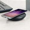 Universal Qi Wireless Fast Charging Leather Stand Pad With Micro USB by Modes