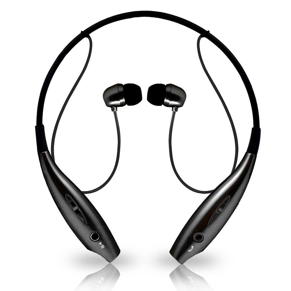 Universal Wireless Bluetooth Stereo 3D Neckband Headset Black by Modes
