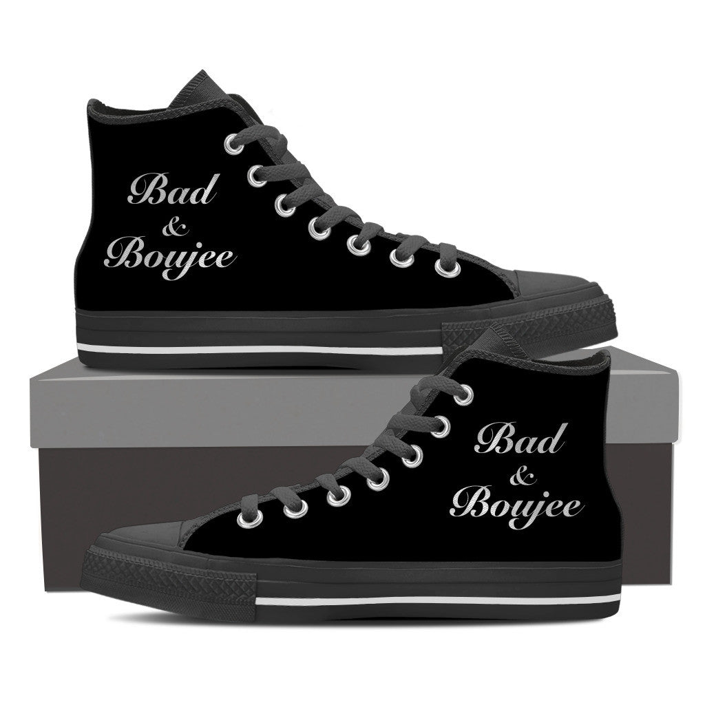 Women's - Bad & Boujee - Limited Edition High Top Sneakers