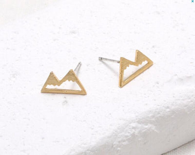 Mountain Range Earrings