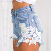 Lace High Waist Shorts