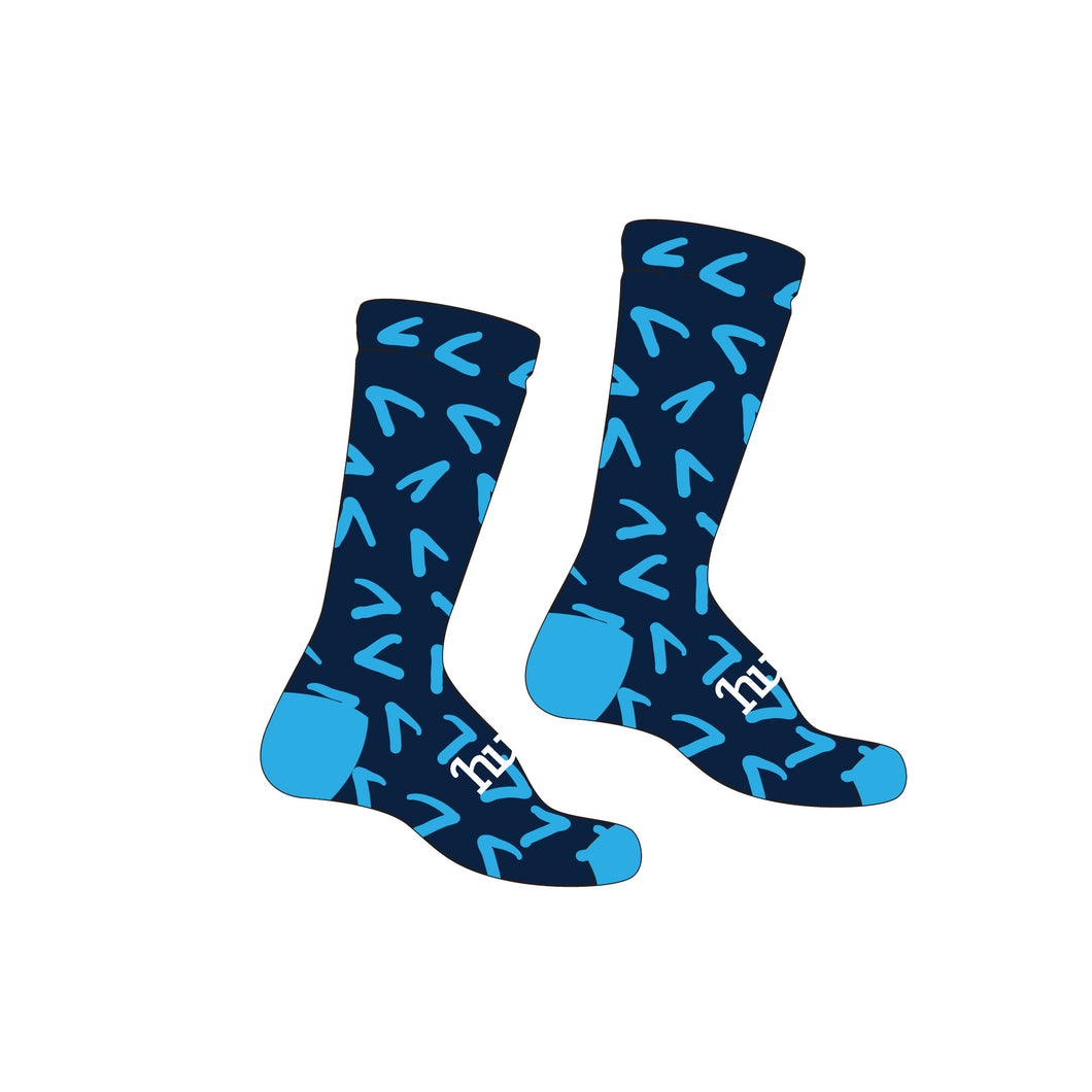 2019 United Energy Around the Bay Cycling Socks
