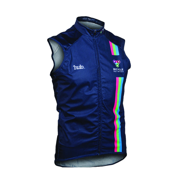 Bicycle Network Gilet - Navy