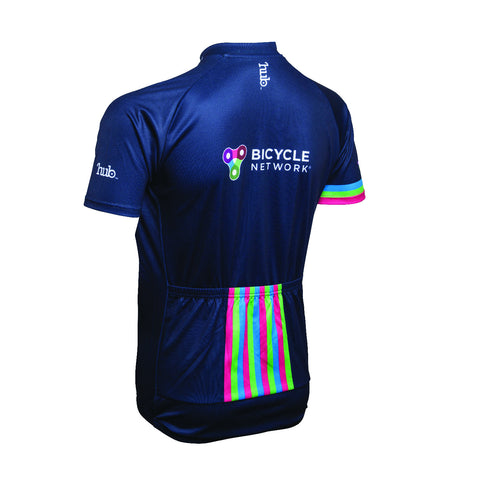 Bicycle Network Jersey Event Fit - Navy