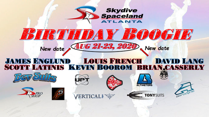 Fun Jumper Alert: Birthday Boogie @Skydive Spaceland Atlanta