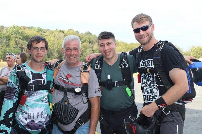 Boogie down on the Battlefield Skydive Shenandoah 2019