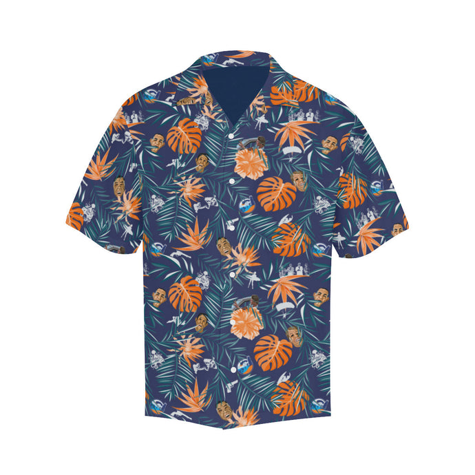 You got to see these -- Limited edition Point Break Boogie Hawaiian shirts