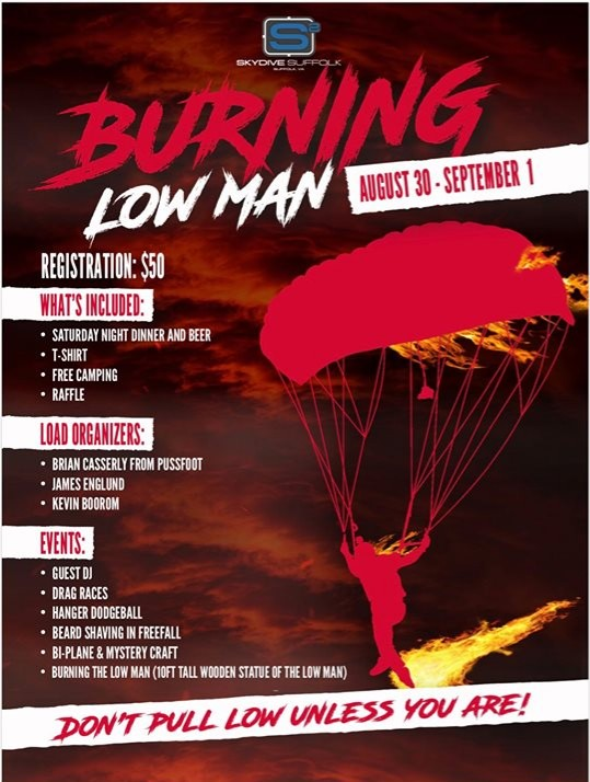 Fun jumper Alert: The 1st Annual Burning Low Man Boogie