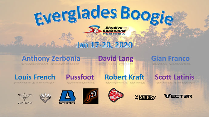 Fun Jumper Alert: 2020 Everglades Boogie @ Skydive Spaceland Clewiston