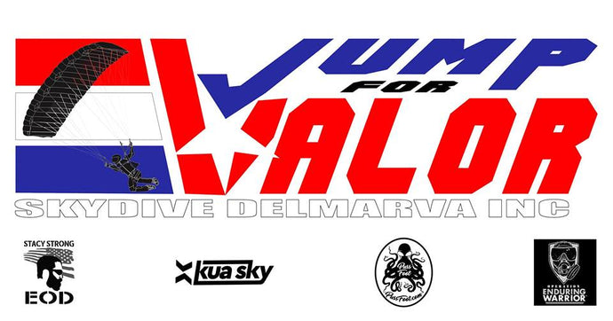 Skydive Delmarva  Boogie Benefit Alert - Jump For Valor ( Kenton Stacy )