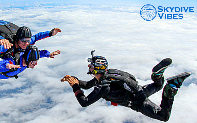 Skydiving safety - Jumping with a skydiving camera helmet