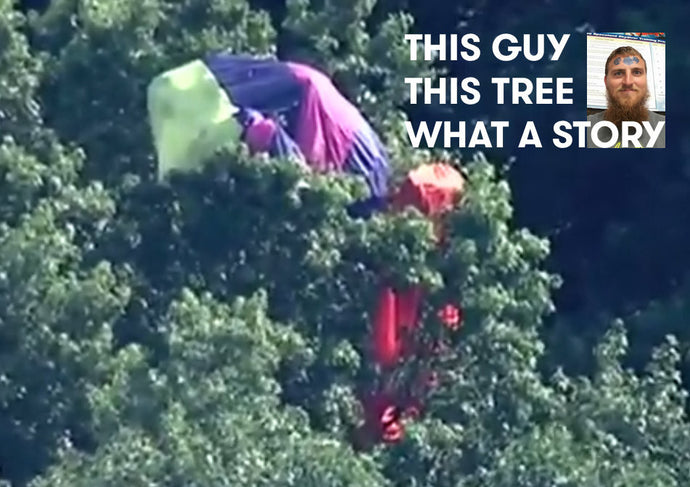 Dustin Flower: The Man, The Myth, The Biplane Into a Tree