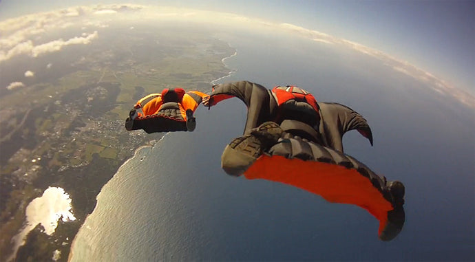 Wingsuit V.S. High Pull - Near Miss