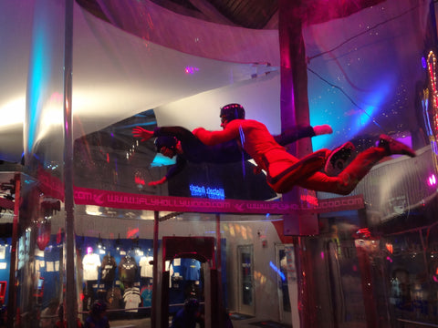 indoor skydiving instructor