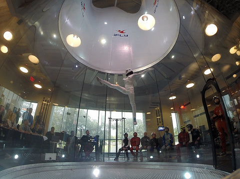 indoor skydiving pro