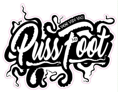 Pussfoot Tentacle sticker