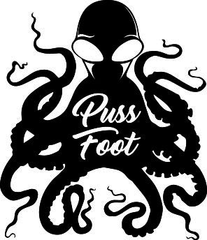 Pussfoot Octopus Sticker