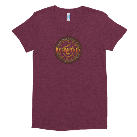 Vintage Women's Tri-Blend Shirt [Cranberry]