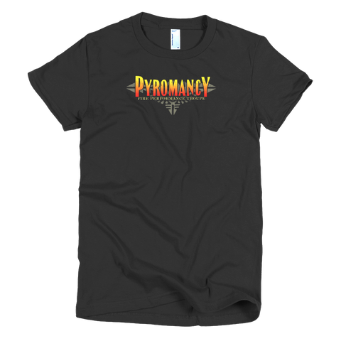 Pyromancy Women's Logo T-Shirt [Black]