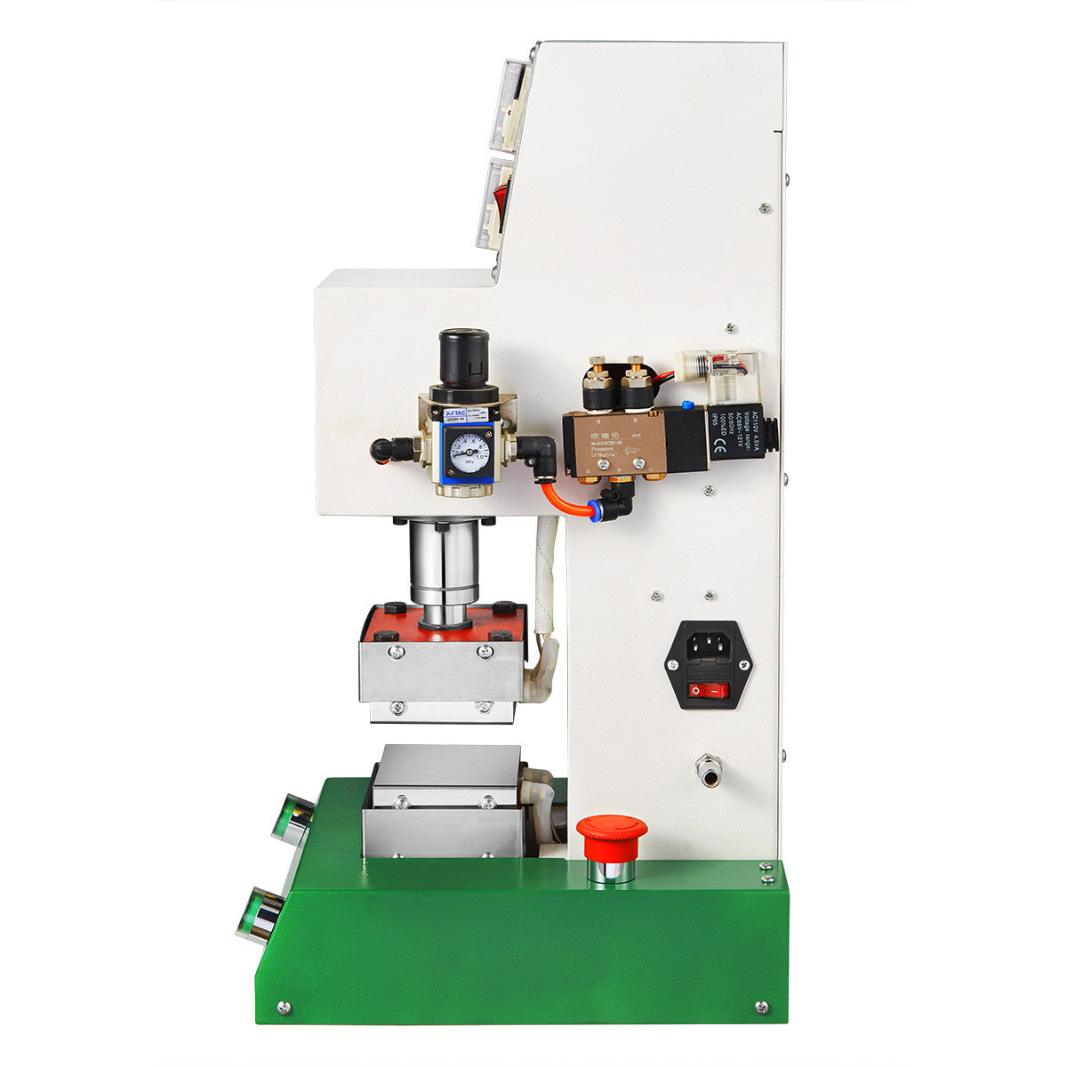 Rosineer RNR-PV2 Pneumatic Rosin Press Machine  - Food Grade Stainless Steel Cover for Heat Plates