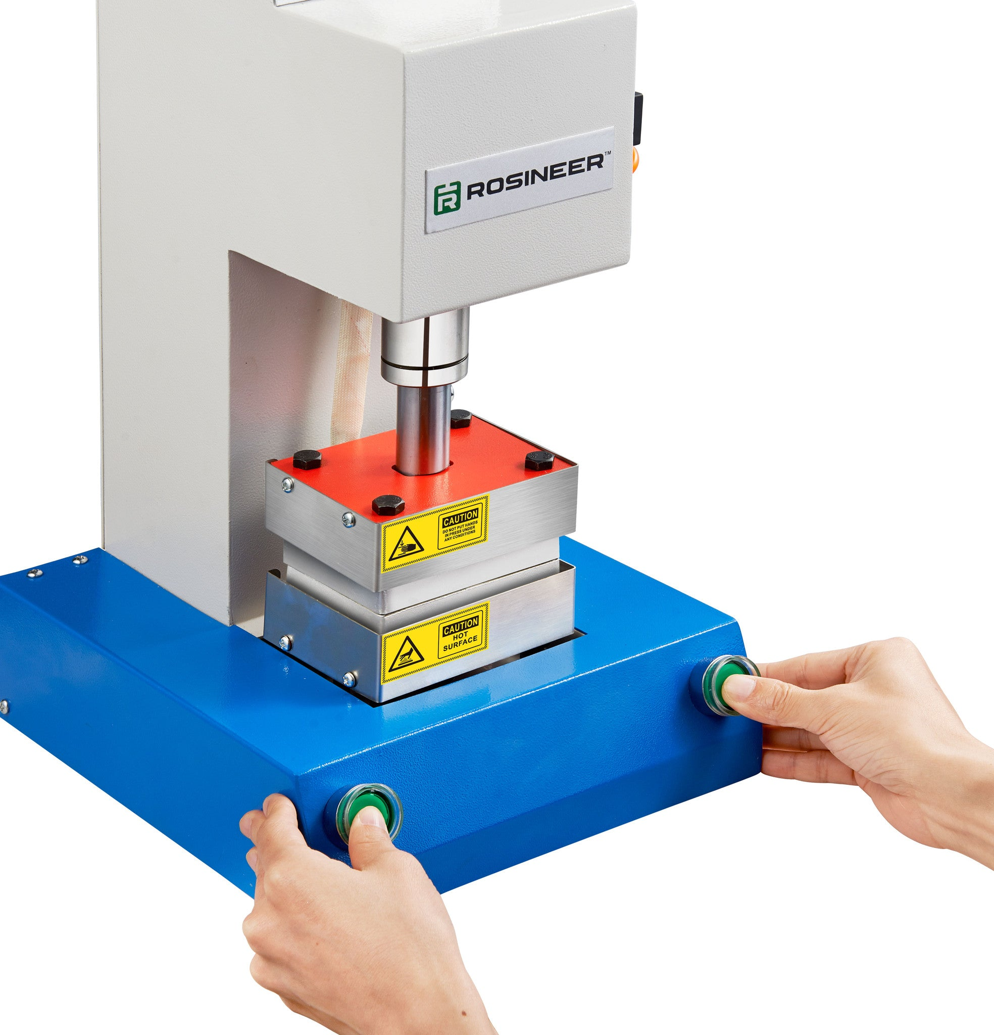 Rosineer RNR-PV1 Rosin Press - Safety Features