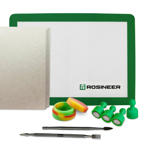 Rosineer Starter Kit for Rosin Heat Press - Cannabis Solventless Extraction Tools