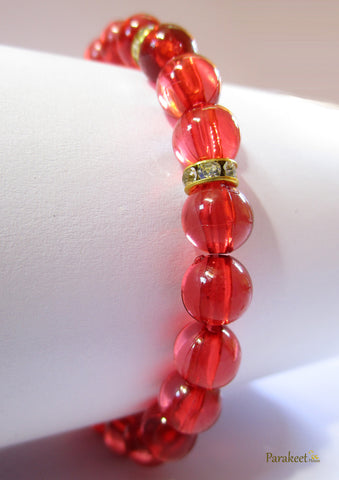Red Costume Stretch Bracelet