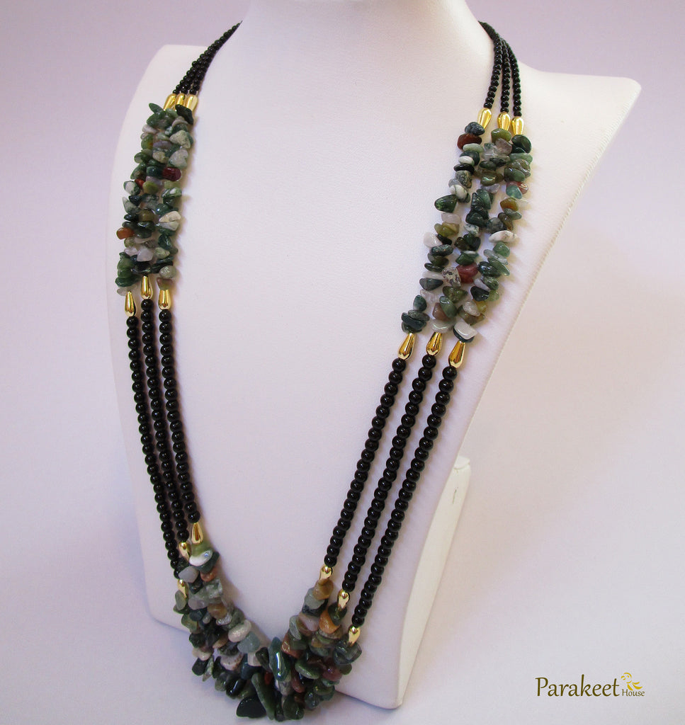Indian Agate Necklace