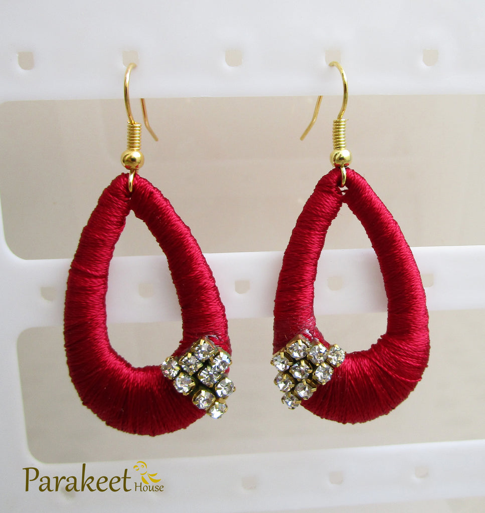 fire by earrings hoop rental from jewelry flont fine on hearts large club pave silk