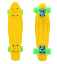 "Tiger Boards Complete 22"" Skateboard - Yellow"